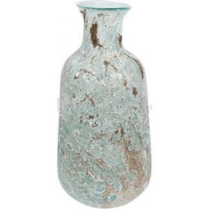 Vase Aya bottle ice green glazen vaas 18 cm