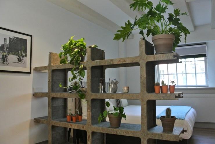 De luchtkwaliteit in een kamer met planten is veel beter en aangenamer.