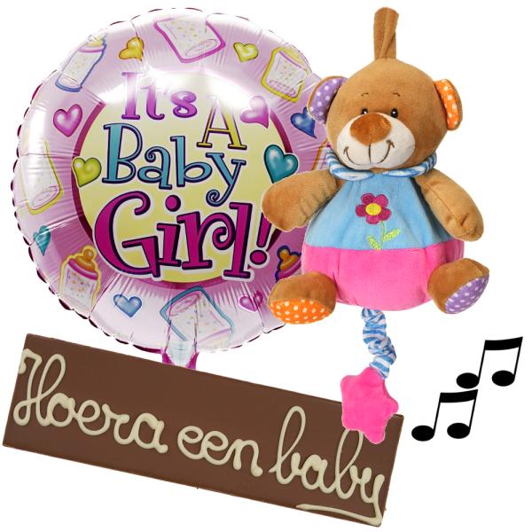 Babyplezier pakket meisje bezorgen bestellen of bezorgen