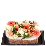 Bloemen cake bestellen bestellen of bezorgen