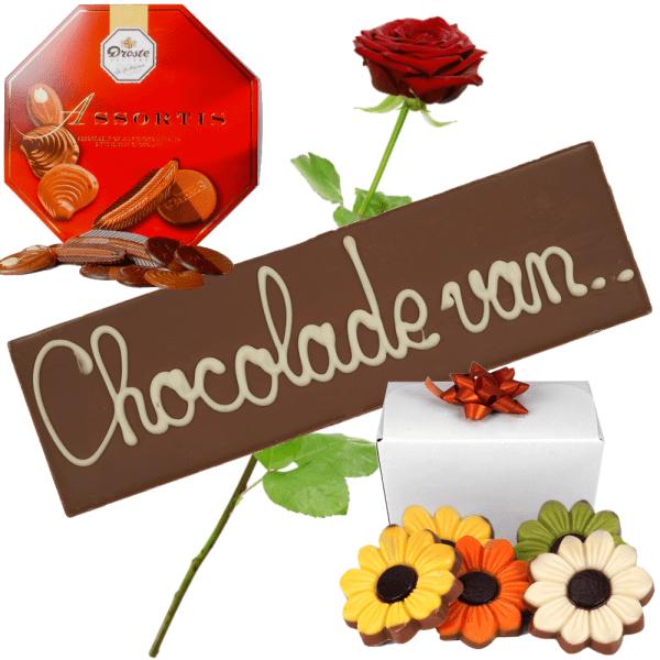 Chocolade pakket bestellen bestellen of bezorgen