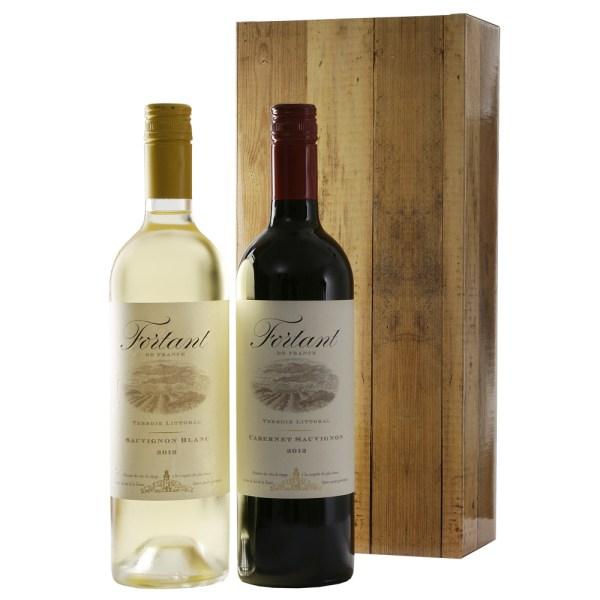 Fortant rode en witte wijn bestellen of bezorgen