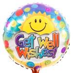 Get well wishes ballon sturen bestellen of bezorgen