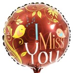 I miss you ballon laten bezorgen bestellen of bezorgen