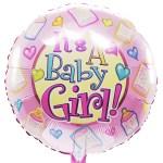 It's a baby girl ballon bestellen of bezorgen