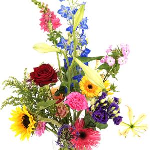 Moederdag geplukte bloemen bestellen bestellen of bezorgen