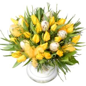 Paas tulpen boeket bestellen of bezorgen