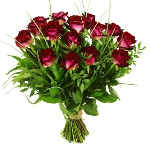 Rode rozen boeket bestellen of bezorgen