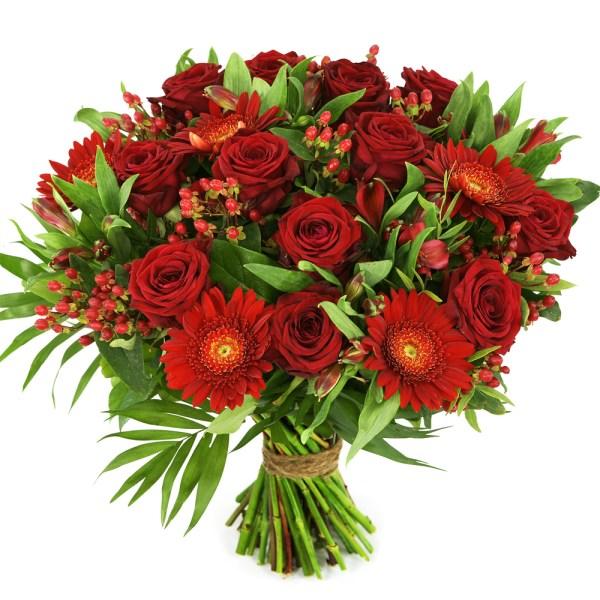 Rode rozen en rode bloemen bestellen of bezorgen