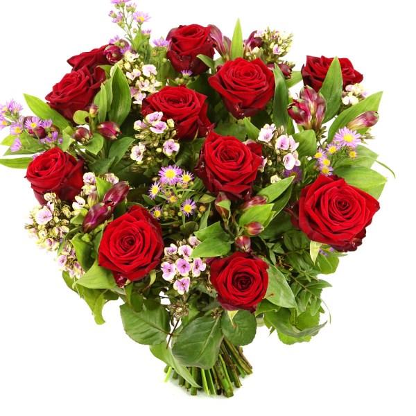Rode rozen gemengd bezorgen bestellen of bezorgen