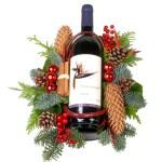 Wijn Kerststuk bestellen of bezorgen