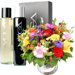 Wijn en bloemen voor Vaderdag bestellen of bezorgen