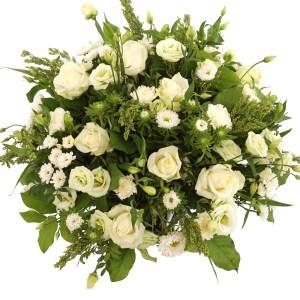 Witte rouwbloemen bestellen bestellen of bezorgen