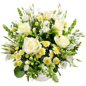 Witte vaderdag bloemen bestellen bestellen of bezorgen