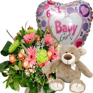 Compleet geboorte cadeau meisje bestellen of bezorgen online