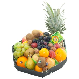 Fruitmand de Luxe met ananas bestellen of bezorgen online