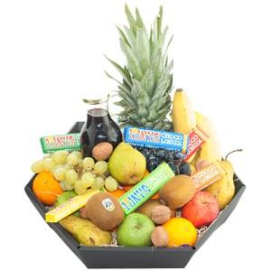 Fruitmand de Luxe met tony's chocolonely bestellen of bezorgen online