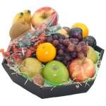 Fruitmand seizoensfruit met keelpastilles bestellen of bezorgen online
