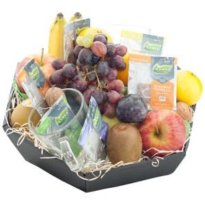 Fruitmand seizoensfruit met thee bestellen of bezorgen online