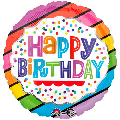 Happy Birthday confetti bestellen of bezorgen online