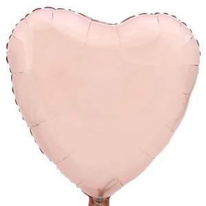 Hart ballon baby roze bestellen of bezorgen online