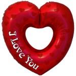 I love you open hart bestellen of bezorgen online
