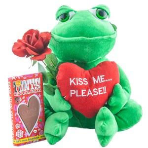 """Kikker """"Kiss me please"""" bestellen of bezorgen online"""
