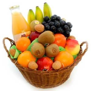Mandje fruit 30cm bestellen of bezorgen online