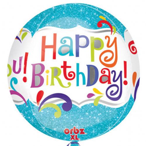 Orbz Happy Birthday Splashy Sparkle bestellen of bezorgen online