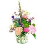 Palet boeket roze lila-paars bestellen of bezorgen online