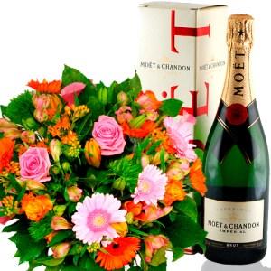 Plus Boeket champagne bestellen of bezorgen online