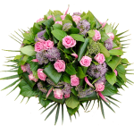 Rouw biedermeier roze lila bestellen of bezorgen online