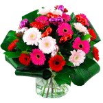 Valentijn boeket mix gerbera's bestellen of bezorgen online