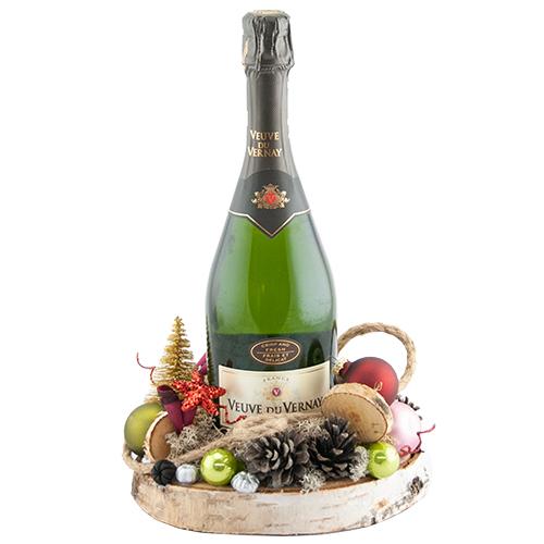 Veuve du Vernay met kerst decoratie bestellen of bezorgen online
