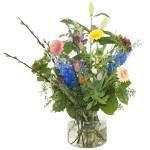 Voorjaarsboeket bont gekleurd bestellen of bezorgen online