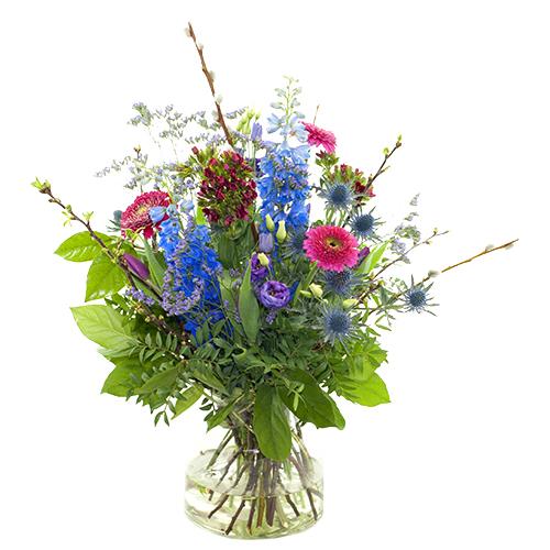 Voorjaarsboeket lila/paars bestellen of bezorgen online