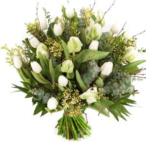 Witte tulpen voor pasen bestellen of bezorgen