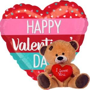 valentine stripes + beertje met hart bestellen of bezorgen online