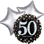 Ballonboeket 50ste verjaardag bestellen of bezorgen online