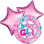 Ballonboeket little baby girl bestellen of bezorgen online