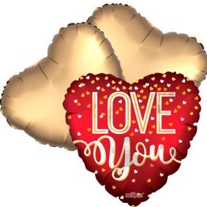 Ballonboeket Sparkling love bestellen of bezorgen online