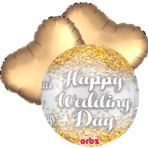 Ballonboeket Wedding day bestellen of bezorgen online