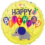 Elephant Birthday ballon bestellen of bezorgen online