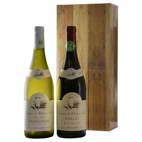 Organic wijn rood en wit bestellen of bezorgen