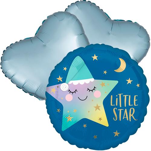 Ballonboeket little star boy bestellen of bezorgen online
