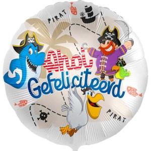 Ahoi Gefeliciteerd! ballon bestellen of bezorgen online