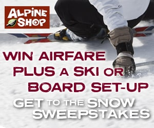 Get to the Snow Sweepstakes