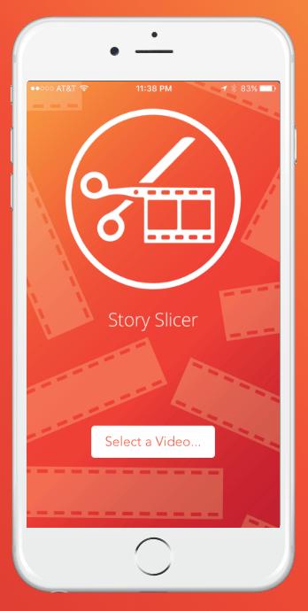 story slicer app for social media