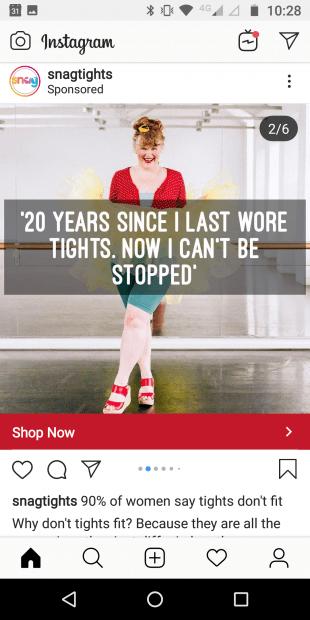 Instagram carousel ad slide 2