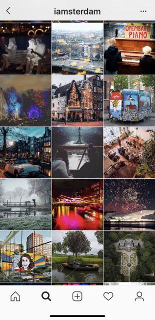 #iamsterdam Instagram posts